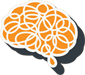The Henry's Foundation Brain Graphic Logo